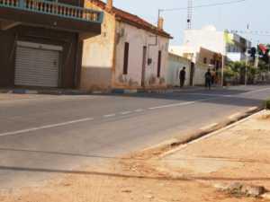 EL MARSA - la rue principale en 2008