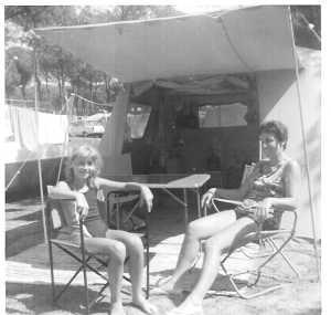 1967 - camping Toro Bravo en Espagne