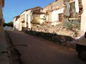 """Rue Leblond Maison de """"Haouch ESPI"""" en ruines"""