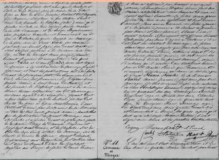 Mariage d'Henri FUCHS et Marie-Jeanne PRADET (Suite)