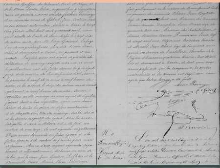 Mariage de Jean PELLETIER avec Anne LEININGER (suite)