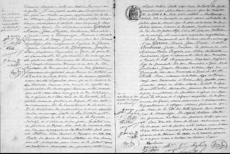 Mariage de Gaston AMBROISE et Maria GARCIA (Suite)