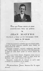 Jean MAFFRE