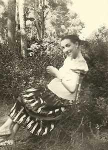 Odette ALBENTOSA en 1959