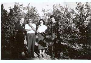 1954 ---- Mme COUSSEAU Les FEREDJ Ahmed BENSAHLI (M'Hida)