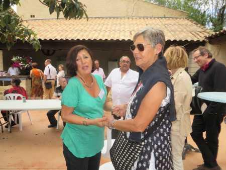 Les grandes retrouvailles Annie-Claude FICHET  et Christiane CAMILLERI