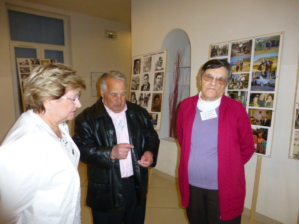 LA VIERE - 2013 ---- Alice TORREGROSSA Jacky TORREGROSSA  Francine XICLUNA