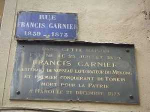 FRANCIS GARNIER 1830 - 1873
