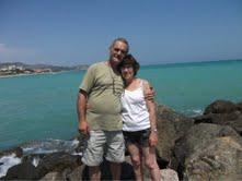 Francis GALLE et sa compagne Nicole ESPAGNE 2012