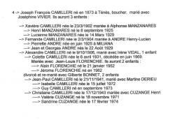 Highlight for Album: Généalogie CAMILLERI