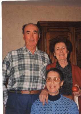 Gilbert SALA Yvette SALA Lucienne SALA