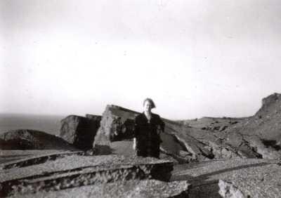 1953 le glissement de terrain sur la route de Pointe Rouge