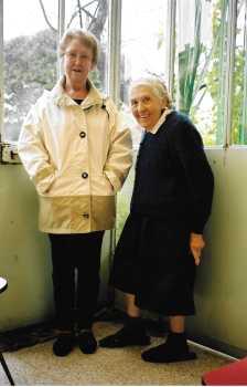 Jeannine GROUHEL et Lucienne ROMEO