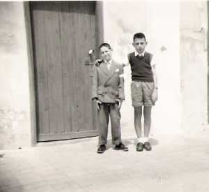 Sauveur RUSO  et son ami Gilbert LEVITA