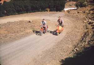 sur la moto : Henri LOISON