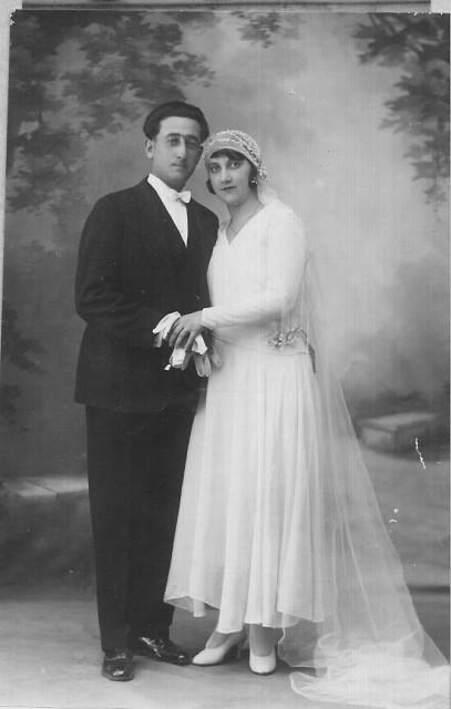 1931 Mariage de Charles XICLUNA et Yvonne ORS