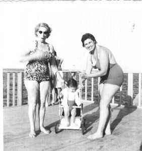 1960 - Port d'Alger ---- Ida BERNARD Pierre BERNARD Ida ?