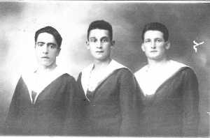 au milieu : Alexandre CAMILLERI