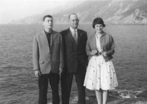 Avril 1959 Jean Paul CAMILLERI Alexandre CAMILLERI Christiane CAMILLERI