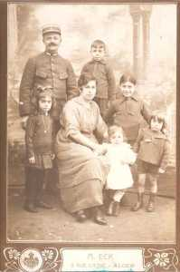 Famille CHAFFORT vers 1927