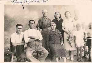 1949 ---- Familles LUBRANO et AMBROSINO