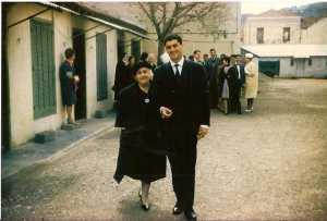 Mme SEROR et son fils Serge