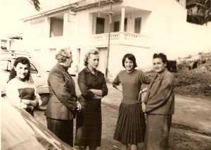 Yvonne RAU Huguette FEREDJ Mado RIGAIL Simone RIGAIL