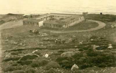 Le Camp des aviateurs au Cap TENES