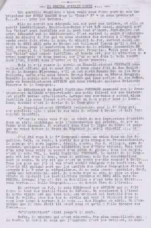 BORDJ BAACH / BREIRA BORDJ Capitaine PORTMANN ---- S/Lr CERVEAUX S/Lt ANTIKOW S/Lt GAILHARD