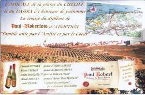 Le Diplome de PAUL-ROBERT