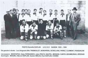 Le GSO saison 1935 - 1936