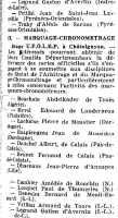 Abdelkader BOURHALA ---- Organe officiel de la FF de Basket Novembre 1953