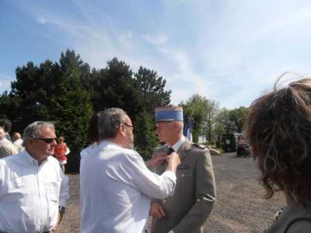 Marc RODRIGUEZ Claude SORBA le Colonel Bernard RAINERO (Famille GAYS)