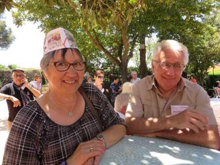 Nadine LANGENDORF  et Christian LANGENDORF petits cousins de Marc LANGENDORF ---- Toulouse