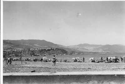 Juillet 1961 La plage