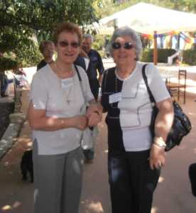 LA VIERE 2010 ---- Marguerite LASSUS (Famille XICLUNA) Yvette CERVERA