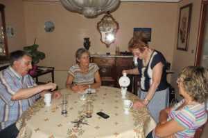 Juillet 2015 Enterrement de Georges ANDRE Loulou XICLUNA Christiane CAMILLERI Marguerite LASSUS Danielle MANSION