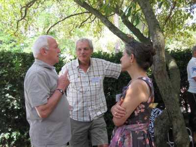 Lucien TESTUD, Philippe et Evelyne BANON