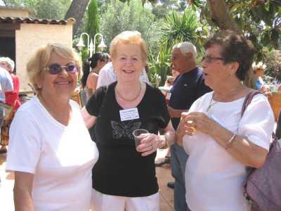 Sylviane BANSARD, Liliane LUBRANO et Georgette ROSTOLL