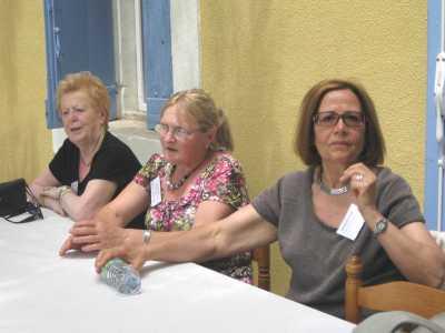 Liliane LUBRANO, Marie Jo PEREZ et Pierrette BERTONA