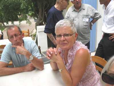 MELERO Alain (Fils d'Alfred MELERO et  Jeanne ALBEROLA)  et sa femme Evelyne
