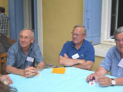 Les trois cousins Pierre GABRIEL, Marc RODRIGUEZ et Jean PASSELERGUES