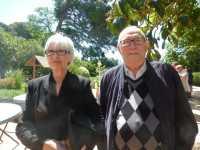 Marie-Th�r�se PELLEGRINO et son Mari Andr� PELLERIN ---- la MARINE ---- Retraite � SETE (34) ---- Dimanche