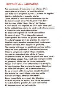 """""""RETOUR des LAMPAROS"""" ---- Lucien LUBRANO"""