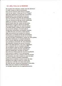 """""""UN JEU, FETE de la MARINE"""" ---- Lucien LUBRANO"""