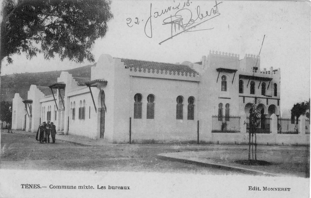 Commune Mixte les bureaux en 1918