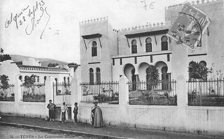1910 - La COMMUNE MIXTE
