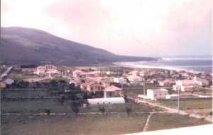 1958 - LE GUELTA Vue prise depuis la terrasse  de la Caserne