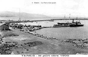 TENES - LE PORT - 1900