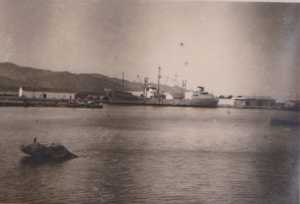 un cargo dans le Port de TENES